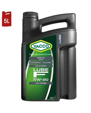 Huile Moteur YACCO LUBE F 5W20 C5