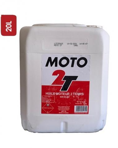 Huile Moto SHELL 2T