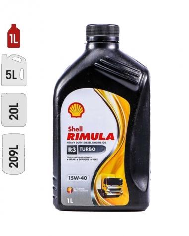 Huile Moteur SHELL RIMULA R3 TURBO 15W40