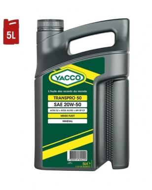 Huile Moteur YACCO TRANSPRO 50 20W50