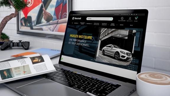 Lancement de notre nouveau site web bestoil.tn